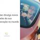 Rapaz em um carro, ao lado está escrito: uber divulga novos dados de sua operação no mundo