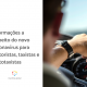 Motorista com mão no volante, ao lado está escrito: dicas contra o coronavírus para motoristas, taxistas e mototaxistas