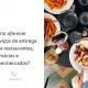 Mesa repleta de comida e ao lado está escrito: como oferecer serviços de entrega para restaurantes, farmácias e supermercados?