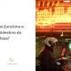Entregador chegando em um restaurante para pegar o pedido. Ao lado está escrito: como funciona o multidestino da Machine?