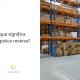Na imagem, um depósito repleto de caixas de papelão, ao lado está escrito: o que significa logística reversa?