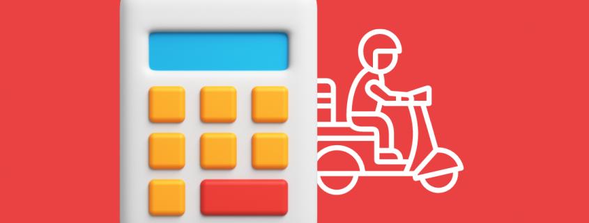 calculadora e motoboy