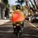 motoboy na moto na rua