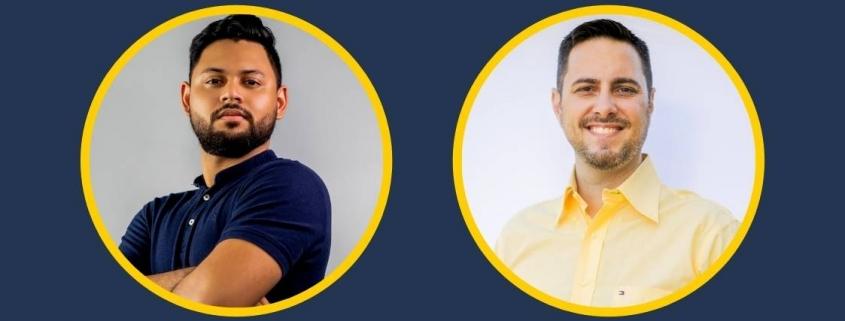 foto de 2 homens no círculo